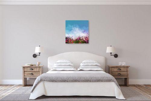 תמונה לחדר שינה - גורדון - גן פורח - מק''ט: 321293