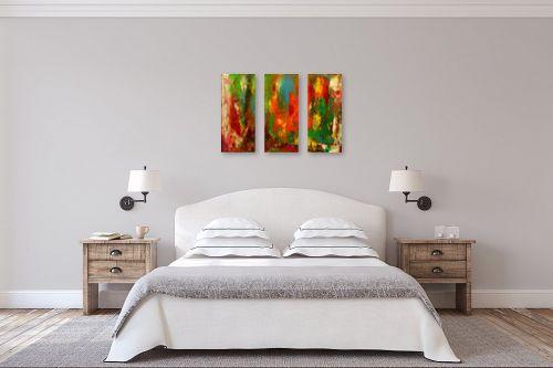 תמונה לחדר שינה - אסתר חן-ברזילי - פנטזיה של צבעים - מק''ט: 321573