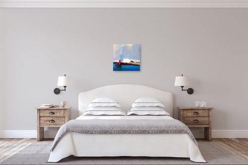 תמונה לחדר שינה - גורדון - מופשט 121 - מק''ט: 321735