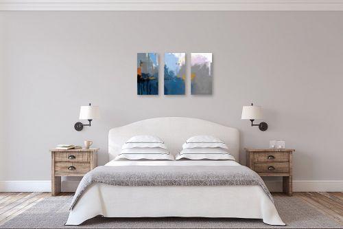 תמונה לחדר שינה - גורדון - מופשט 203 - מק''ט: 322745