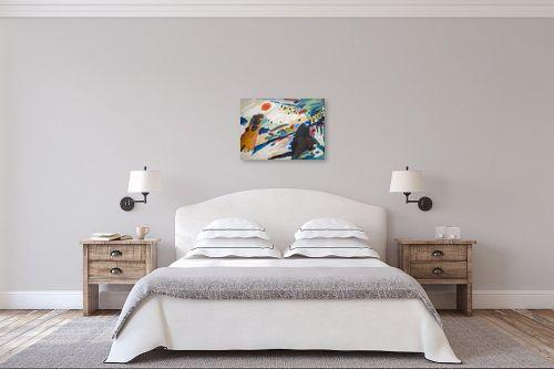 תמונה לחדר שינה - קנדינסקי וסילי - קנדינסקי 27 - מק''ט: 324105
