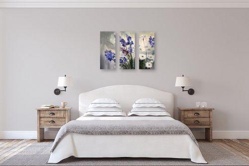 תמונה לחדר שינה - אסתר טל - פרחים - מק''ט: 324126