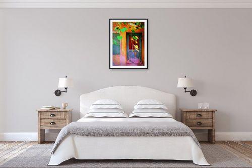 תמונה לחדר שינה - אורית גפני - על מפתן הדלת - מק''ט: 324573