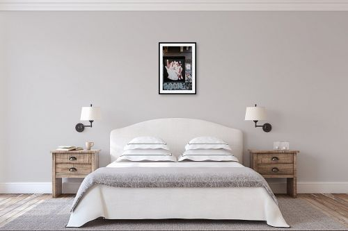 תמונה לחדר שינה - שי וייס - גרפיטי  oas - מק''ט: 324823