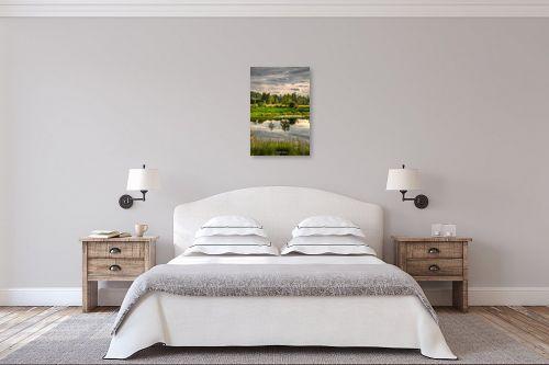תמונה לחדר שינה - איזבלה אלקבץ - השתקפות - מק''ט: 325123