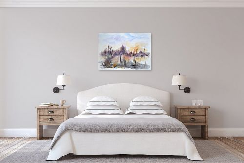 תמונה לחדר שינה - מרים קופפרשטיך - נופ - מק''ט: 325348