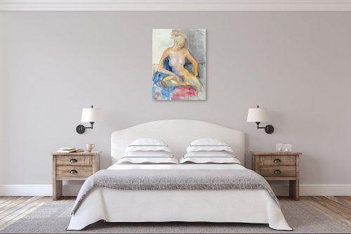 תמונה לחדר שינה - חני שפר - אהבה צנועה - מק''ט: 325516