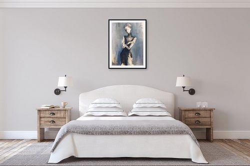 תמונה לחדר שינה - חני שפר - אישה - מק''ט: 325559