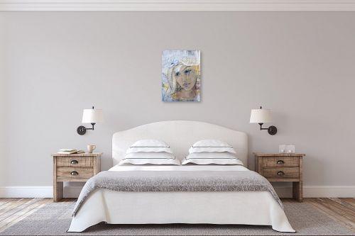 תמונה לחדר שינה - חני שפר - חולמת בהקיץ - מק''ט: 325567