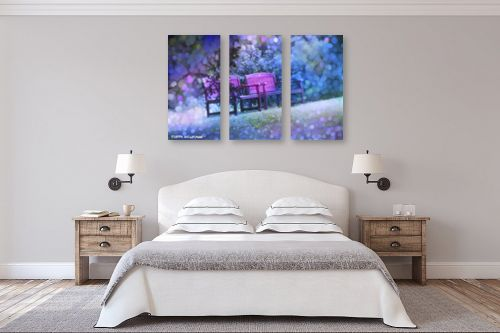 תמונה לחדר שינה - ציפי נוימן - הזמנה לישיבה - מק''ט: 325622