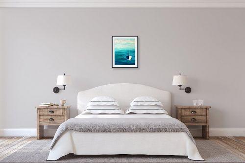 תמונה לחדר שינה - אורית גפני - אחת ויחידה - מק''ט: 325782