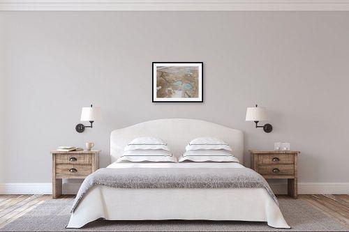 תמונה לחדר שינה - גל מאירי - בולענים - מק''ט: 326954