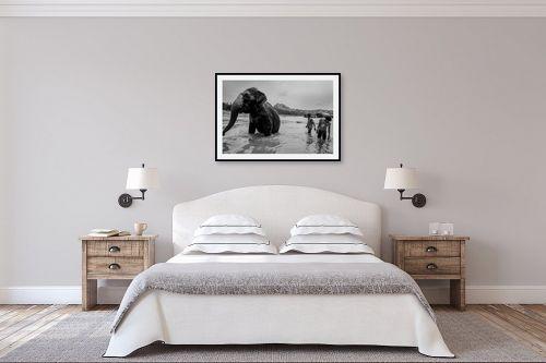 תמונה לחדר שינה - אילן עמיחי - הפיל - מק''ט: 327427