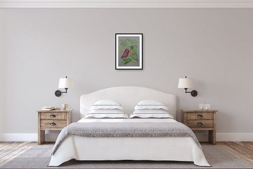 תמונה לחדר שינה - רינה יניב - אשכול ענבים - מק''ט: 327827