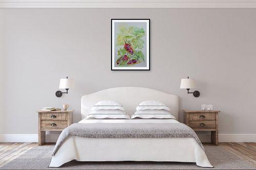 תמונה לחדר שינה - רינה יניב - ענבים 2 - מק''ט: 327842