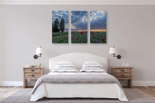 תמונה לחדר שינה - כרמל תדמור - שדה פרגים - מק''ט: 328269