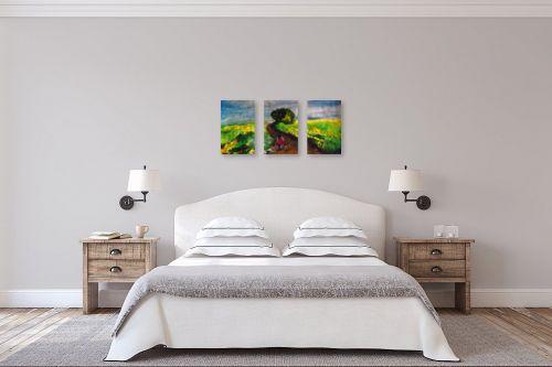 תמונה לחדר שינה - Red סטודיו - עכשיו הם ביחד  - מק''ט: 328303