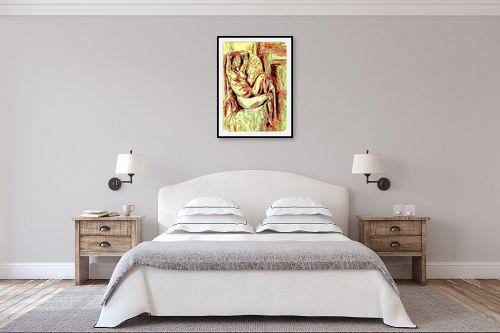 תמונה לחדר שינה - שולי חיימזון - she - מק''ט: 328605