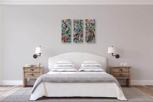 תמונה לחדר שינה - חיים מחט - פאזל - מק''ט: 328765
