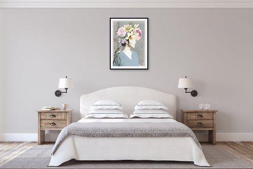 תמונה לחדר שינה - בתיה שגיא - יום הולדת - מק''ט: 328886