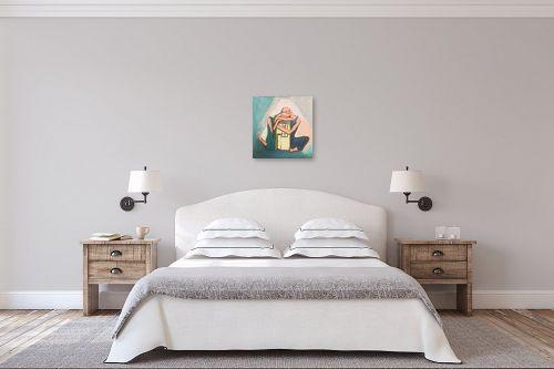תמונה לחדר שינה - אילה ארויו - באושר ובעושר עד עצם היום  - מק''ט: 329465