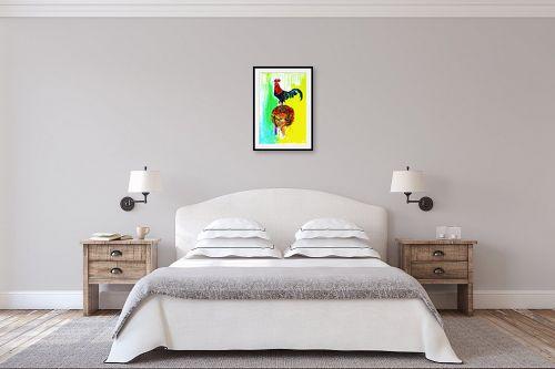 תמונה לחדר שינה - ליאת גבע - שמחה  - מק''ט: 329489