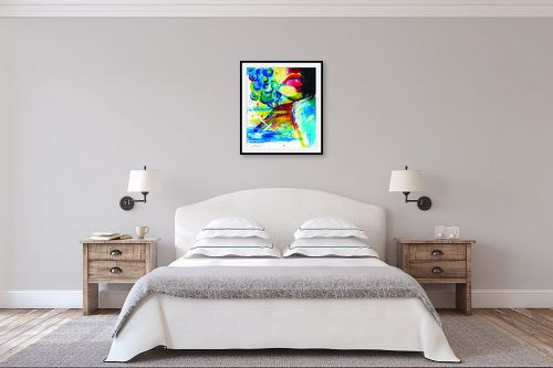 תמונה לחדר שינה - ליאת גבע - מסתורית  - מק''ט: 329490
