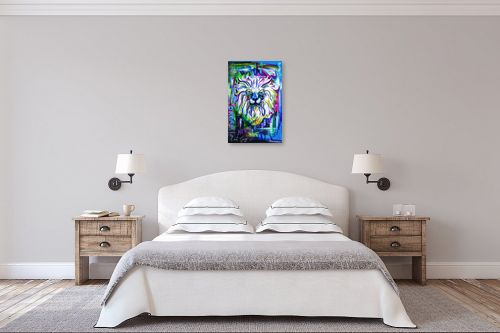 תמונה לחדר שינה - ליאת גבע - אריה - מק''ט: 329491
