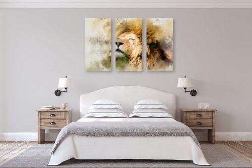 תמונה לחדר שינה - Artpicked - אריה - מק''ט: 329700