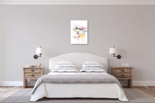 תמונה לחדר שינה - Artpicked - נוגה - מק''ט: 329729