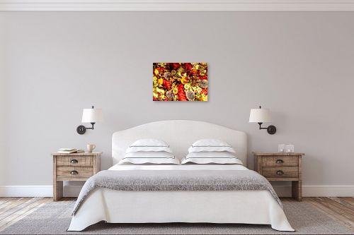 תמונה לחדר שינה - מתן הירש - פירות צבעוניים - מק''ט: 330365