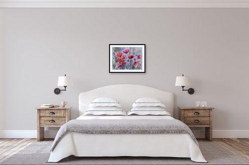 תמונה לחדר שינה - נטליה ברברניק - אביב בעולם - מק''ט: 330387