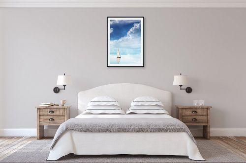 תמונה לחדר שינה - Artpicked - צלילות - מק''ט: 330448