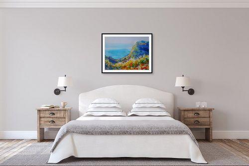 תמונה לחדר שינה - נטליה ברברניק - נוף ליד הים - מק''ט: 330515