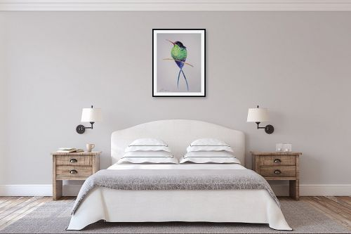 תמונה לחדר שינה - נטליה ברברניק - קתנ - מק''ט: 330621