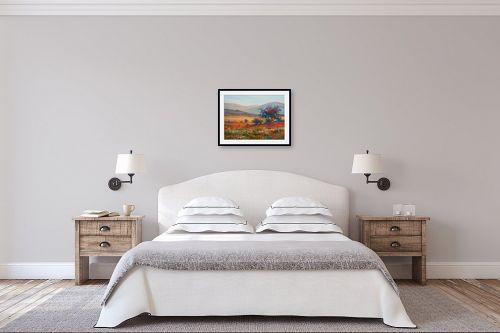 תמונה לחדר שינה - נטליה ברברניק - עולם פורח - מק''ט: 330671