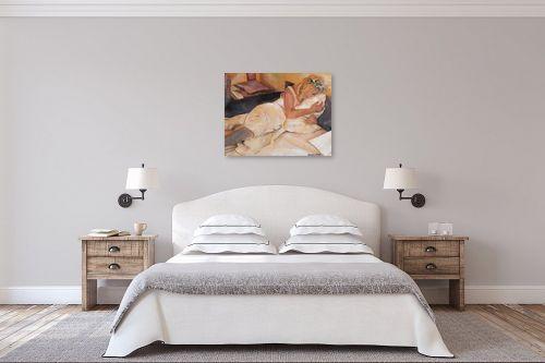 תמונה לחדר שינה - אהובה מגן - פורטרט עצמי - מק''ט: 330952