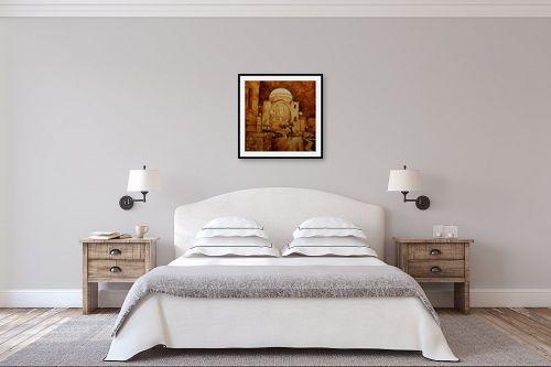 תמונה לחדר שינה - שמואל מושניק - בית הכנסת החורבה - מק''ט: 330978