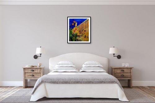 תמונה לחדר שינה - שמואל מושניק - פריחה במערת המכפלה - מק''ט: 330980
