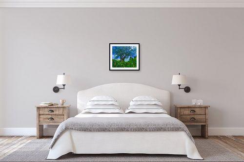 תמונה לחדר שינה - שמואל מושניק - זַיִת רַעֲנָן יְפֵה פְרִי - מק''ט: 330991
