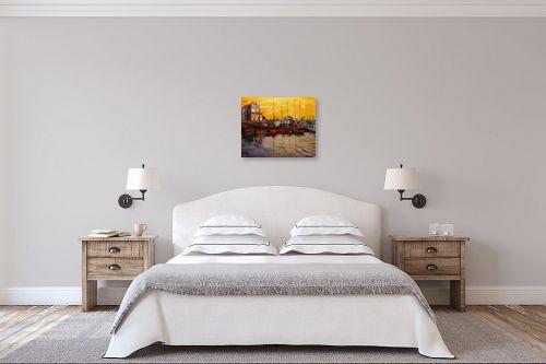 תמונה לחדר שינה - שמואל מושניק - נמל יפו - מק''ט: 330996