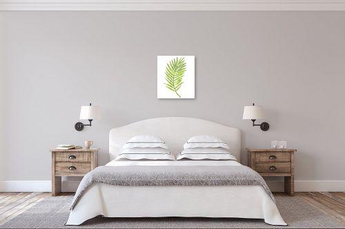 תמונה לחדר שינה - Artpicked - ענף רענן - מק''ט: 331025