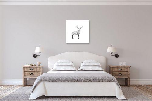 תמונה לחדר שינה - Artpicked - אייל ענפים - מק''ט: 331104