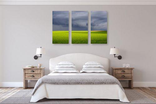 תמונה לחדר שינה - רן זיסוביץ - שדה בסערה - מק''ט: 331202