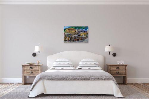 תמונה לחדר שינה - שמואל מושניק - קבר רשב - מק''ט: 331323