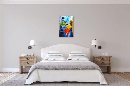 תמונה לחדר שינה - שי וייס - סוכריות - מק''ט: 331460