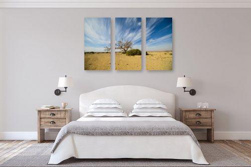תמונה לחדר שינה - רן זיסוביץ - ציור בשמיים - מק''ט: 331486
