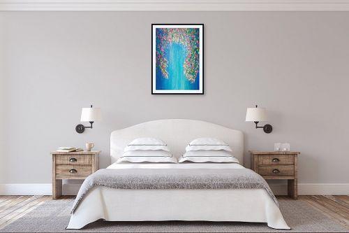 תמונה לחדר שינה - אורית גפני - ילדת הפרחים - מק''ט: 331519