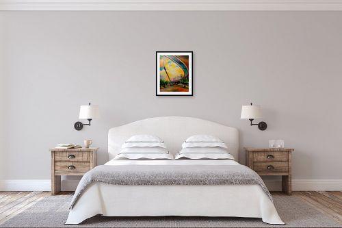 תמונה לחדר שינה - שמואל מושניק - גשר המיתרים, ירושלים - מק''ט: 331681