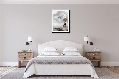 תמונה לחדר שינה - Artpicked - חלום סוריאליסטי - מק''ט: 331790
